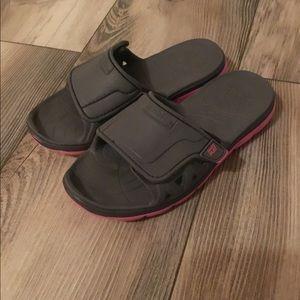 Girls Adjustable Phibian Slides/Sandler's